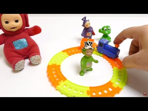 60 Minutes Video - Teletubbies Play Toys FUN Compilation