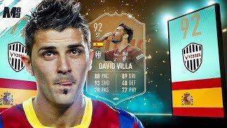 FIFA 19 FLASHBACK VILLA REVIEW | 92 FLASHBACK VILLA PLAYER REVIEW | FIFA 19 ULTIMATE TEAM