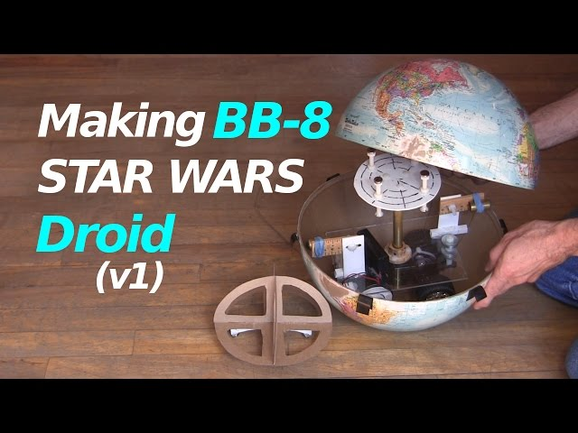 Making a BB-8 Droid Build (v1) from Star Wars