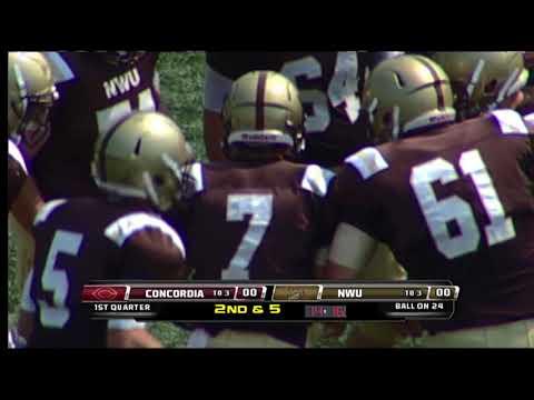 College Football: NWU vs Concordia College September 2, 2017