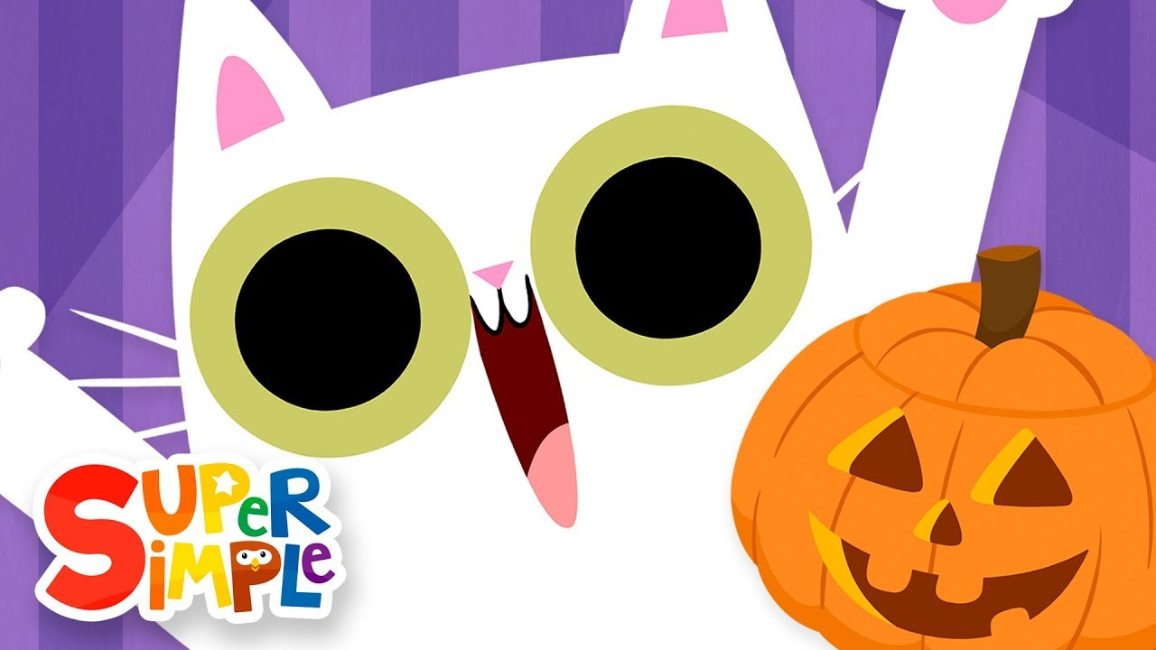 Peekaboo Halloween | Kids Songs | Super Simple Songs