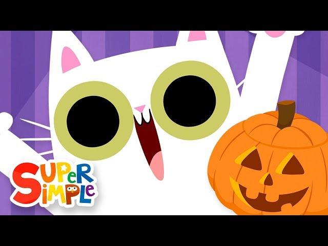 Peekaboo Halloween | Kids Songs | Super Simple Songs
