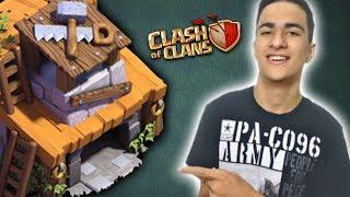 CHEGUEI NA CASA DO CONSTRUTOR NIVEL 4 - CLASH OF CLANS