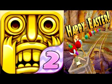 Temple Run 2 - EASTER UPDATE!!! Bunny Ears Artifacts Hunt Gameplay