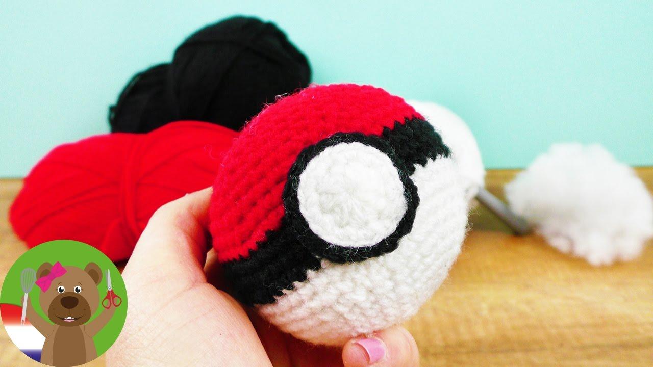 Een Pokémon Bal Haken Een Schattig Cadeau Idee Voor Kleine En