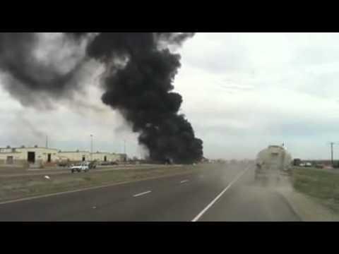 Fatal Pileup In Midland, TX