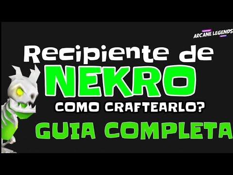 COMO HACER A NEKRO - GUIDE TO MAKE NEKRO - ARCANE LEGENDS