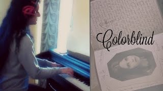 Counting Crows - Colorblind ( Cruel Intentions Soundtrack ) (Piano Cover by Nadia)