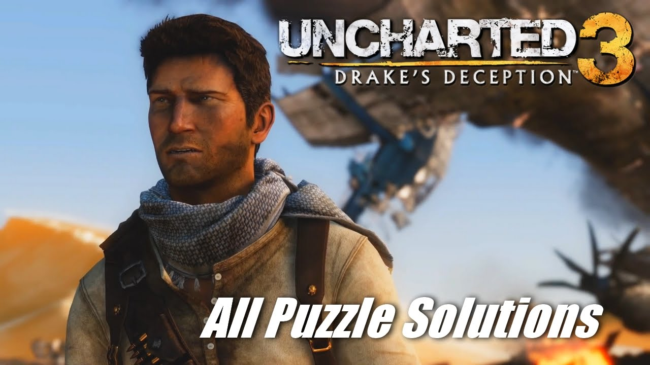 Uncharted 3 Remastered All Puzzle Solutions Youtube