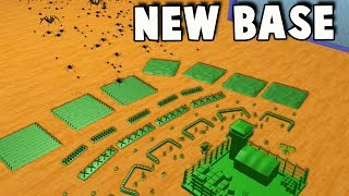 New ARMY MEN Base!  New House, More BUGS! (Home Wars Gameplay New Base Part 1)