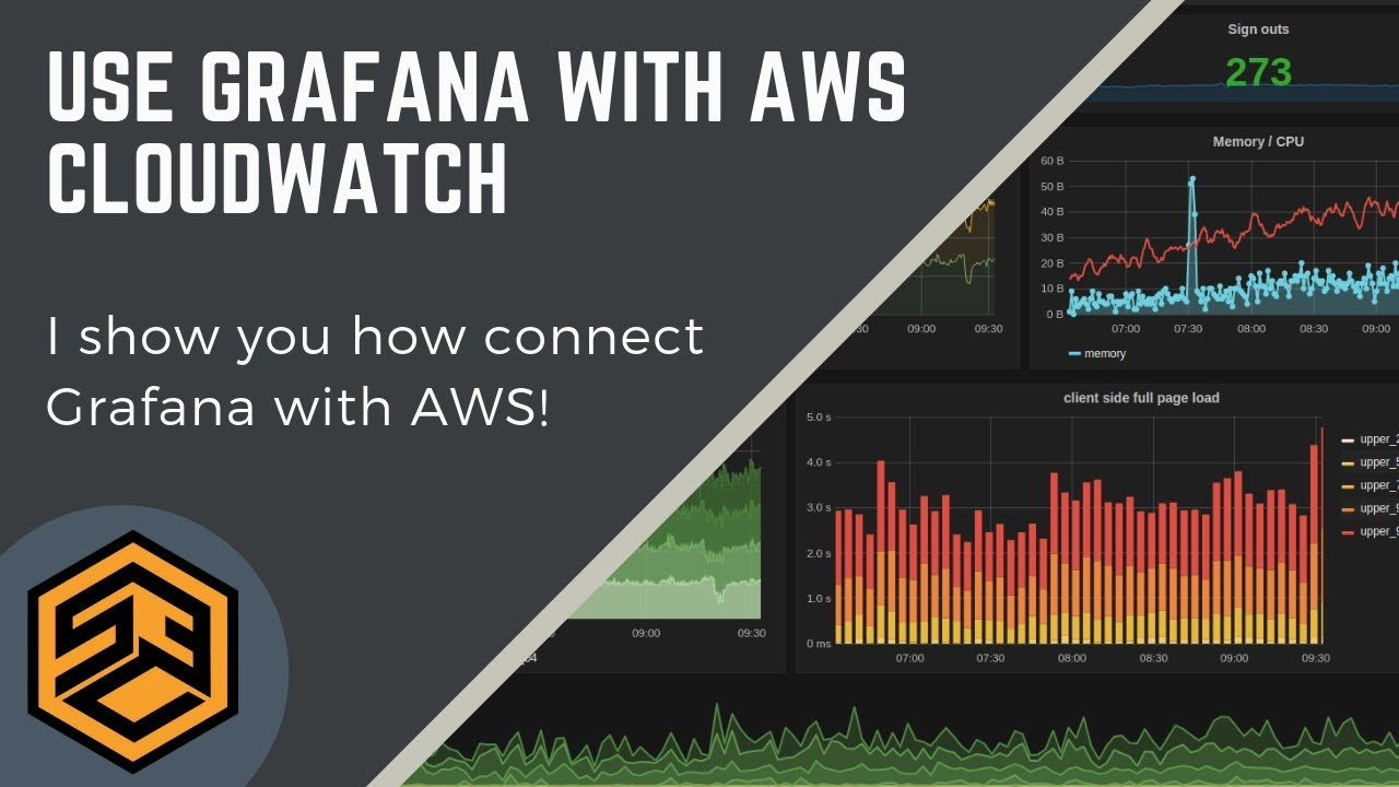 How to use Grafana with AWS CloudWatch