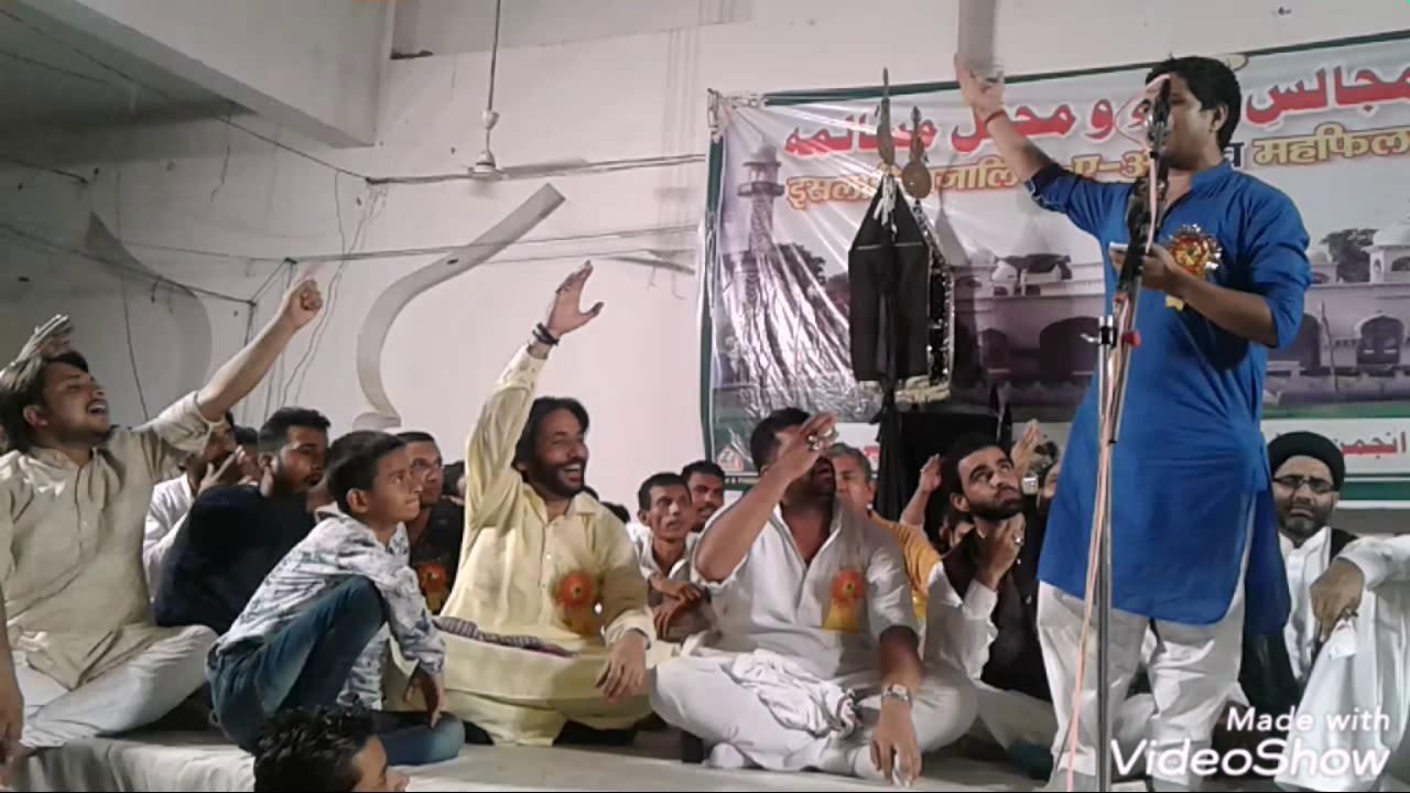 Jashn e Maula Abbas (as) Salana Majlis Dargah e Aaliya Hazrat Abbas as Baghra By Kashif Mahir Zaidi