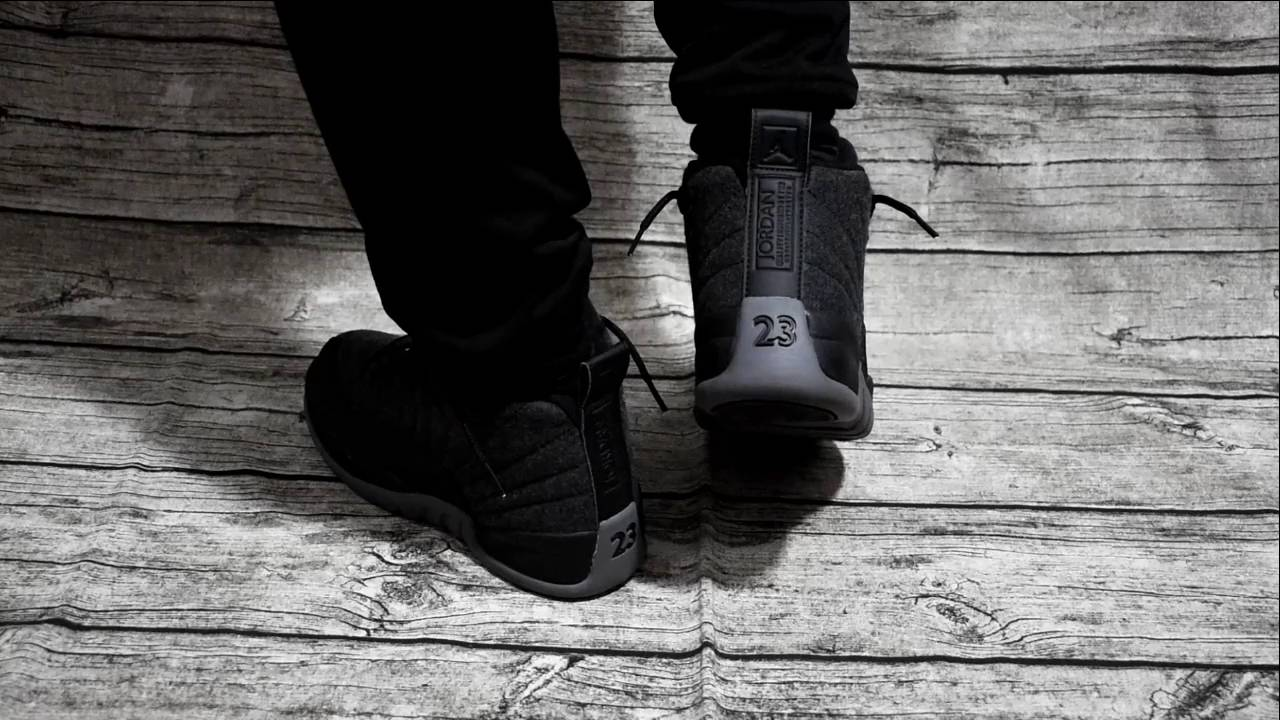 adacd1116221 authentic jordan 12 wool on foot review sneakerjumpman sneaker jumpman