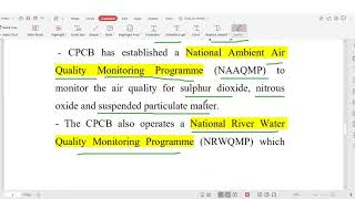 CPCB  central pollution control board & SPCB explained in Hindi
