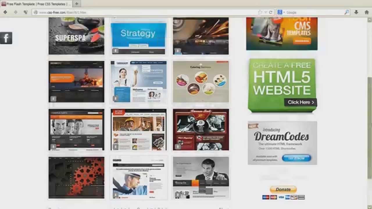 Free Website Templates. Даровые шаблоны интернет сайтов. 免費網站 ...