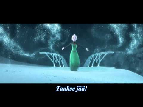 Frozen - Let It Go (Finnish) -Nightcore Version-