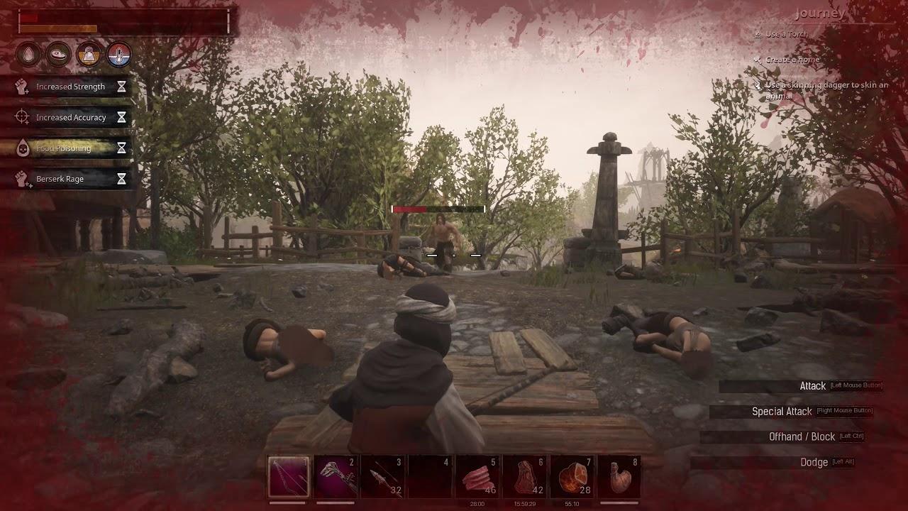 Conan Exiles response archery video