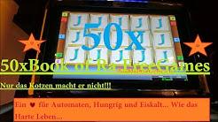 Spielothek KW #8  Book of Ra 50x Freispiele