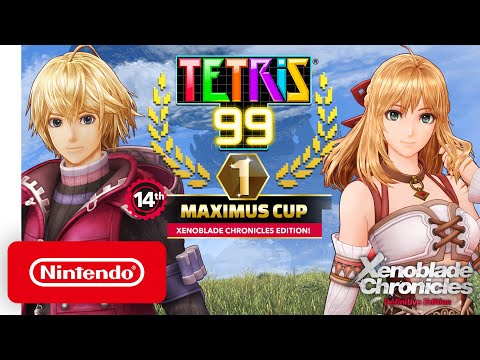 Tetris® 99 - 14th MAXIMUS CUP Gameplay Trailer - Nintendo Switch смотреть видео онлайн