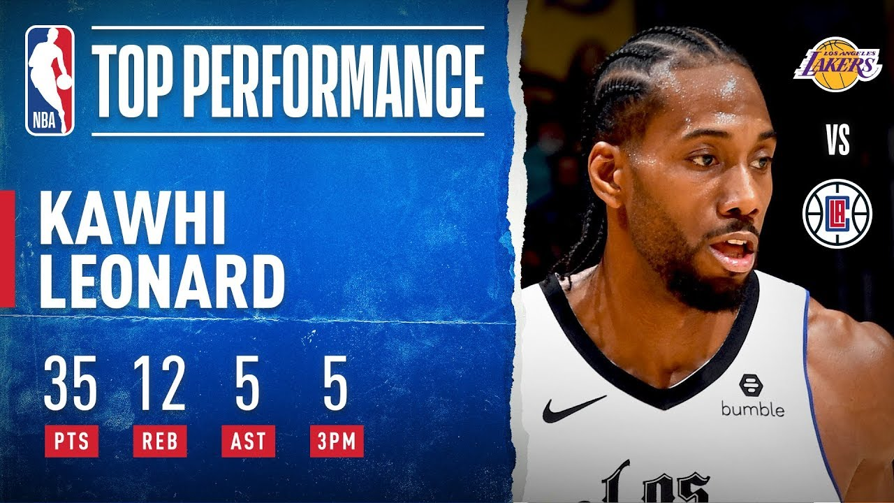 Kawhi Leonard shines. When he wants to