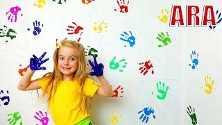 Ulya وقصة أطفال عن الدهانات على الحائط