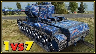 KV-5 - 12 Kills - 1 vs 7 - World of Tanks Gameplay