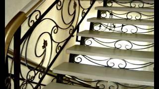 Перила 92  Лестница из металла для дома Днепропетровск фото кованые перила Днепр изготовление(, 2016-11-04T13:31:42.000Z)