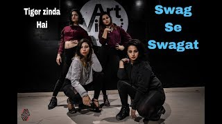 Swag Se Swagat Dance Video | Wenom Choreography | Tiger Zinda hai