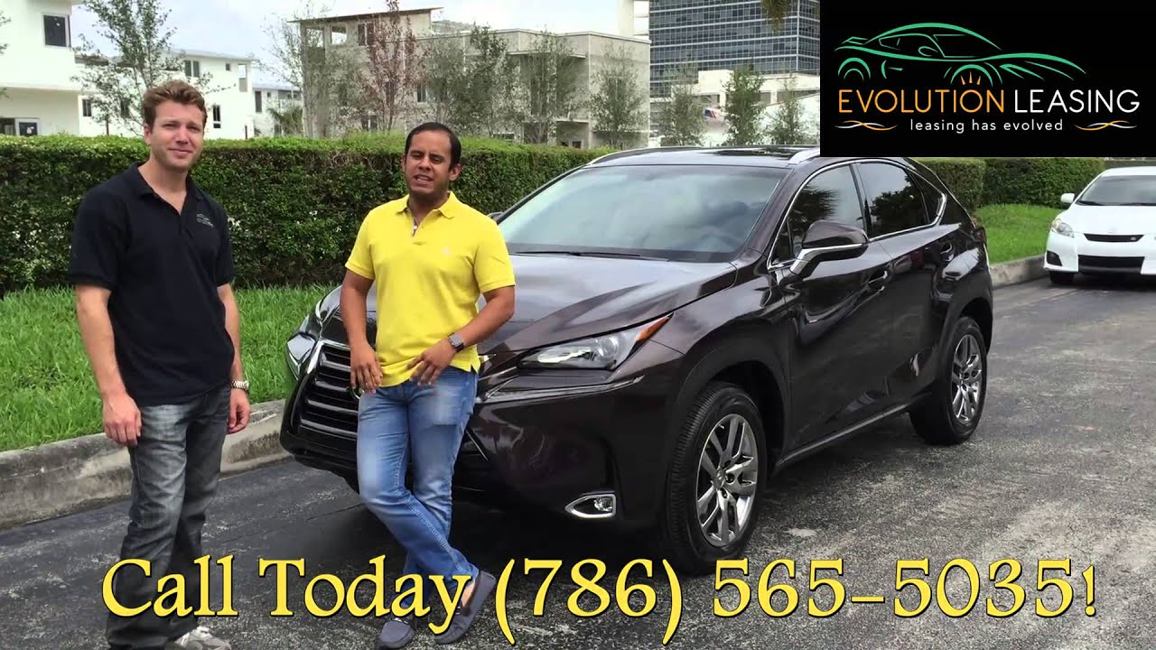 Black Lexus NXt Lexus Lease Specials Evolution Leasing - Lexus miami lease