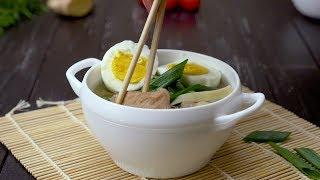Как приготовить японский суп «Рамэн» - Рецепты от Со Вкусом