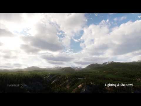 Multi-Layered Volumetric Clouds - UNIGINE 2.4
