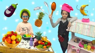 AŞÇI MASALIN TİTİZ MÜŞTERİSİ! - Learn Colors with Finger Family - oyuncakoynuyorum