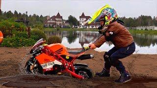 سينا وقصة دراجة نارية عالقة في الرمال