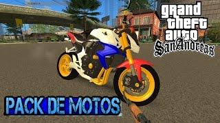 GTA SA PACK DE MOTOS PC FRACO (TUTORIAL+DOWNLOAD)