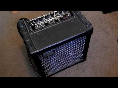Roland Micro Cube RX demo. Great sounds and lots of features