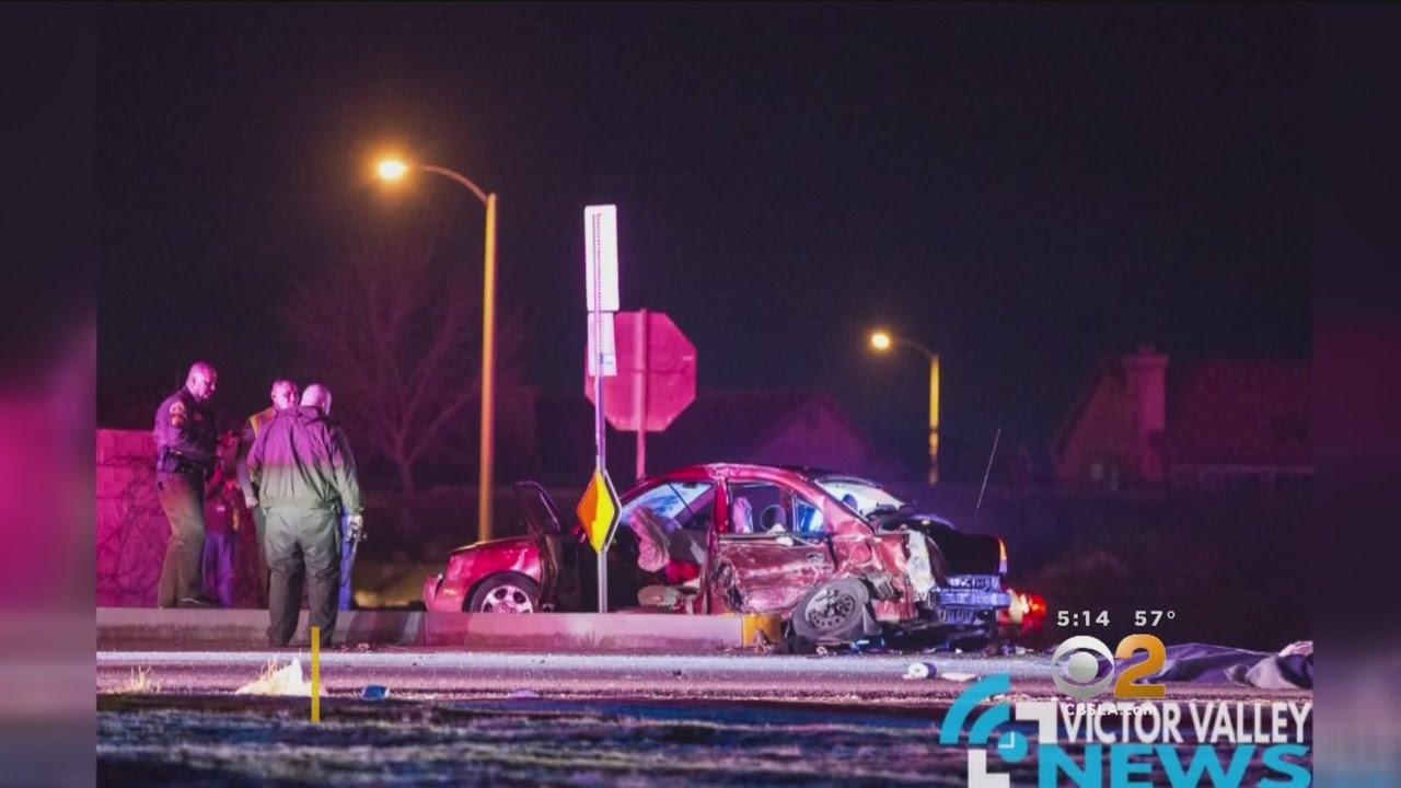 Download 2 Children Killed, 5 Injured In 2-Vehicle Crash In Victorville