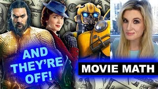 Box Office for Aquaman Opening Weekend, Mary Poppins Returns, Bumblebee