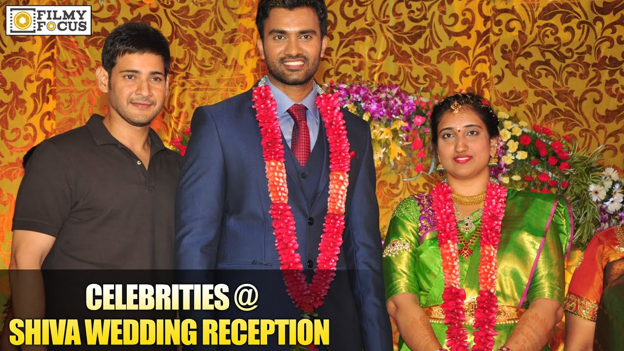 Celebrities At Actor Shiva Wedding Reception