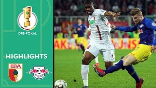 FC Augsburg - RB Leipzig 1:2 n.V. | Highlights | DFB-Pokal 2018/19 | Viertelfinale