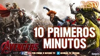 AVENGERS AGE OF ULTRON 10 PRIMEROS MINUTOS OPINION