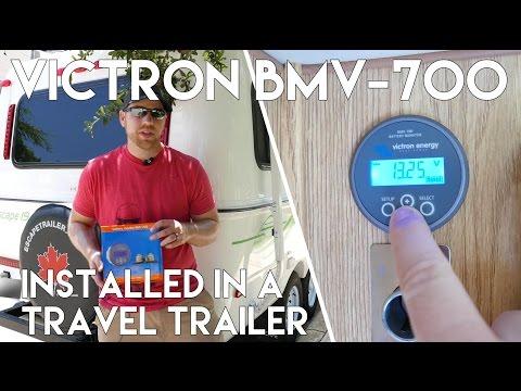 Victron BMV-700 - Battery Monitor Installation (2015 Escape 19 Trailer)