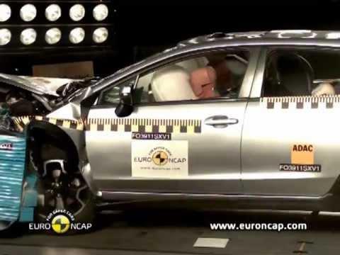2012 Subaru XV  CRASH TEST  YouTube