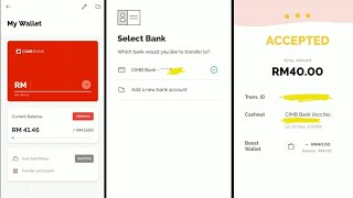 Proses Transfer Out to Bank di eWallet Boost App