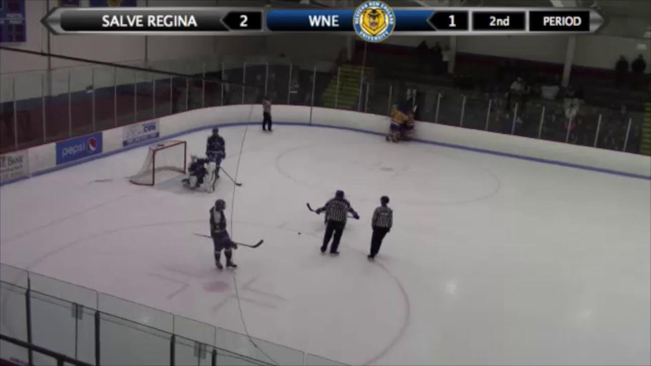 Wne Salve Regina Hockey Highlights 11 3 Youtube