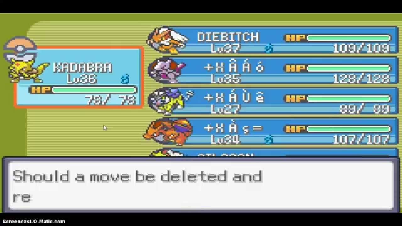 Abra Evolution In Pokemon Emarld