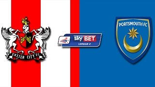 Exeter City Vs Portsmouth FC
