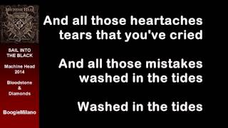 Machine Head - Sail into the black with Lyrics on Screen