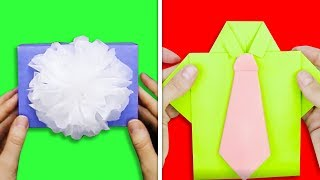 13 SUPER EASY GIFT PACKAGING IDEAS