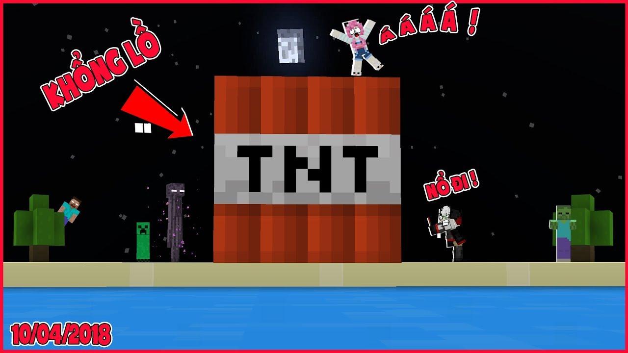 THỬ THÁCH XÂY TRÁI TNT KHỔNG LỒ*MỀU VÀ REDHOOD KÍCH NỔ TRÁI TNT KHỔNG LỒ*NẾU TNT KHỔNG LỒ PHÁT NỔ