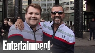 James Corden Pays Tribute to George Michael | News Flash | Entertainment Weekly